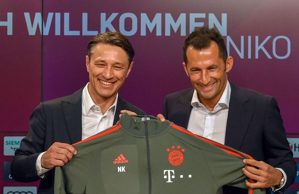 Niko Kovač i Hasan Salihamidžić (Foto: AFP)