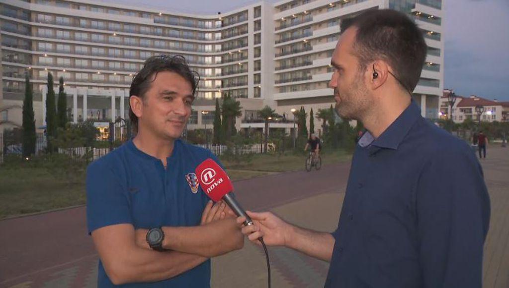Zlatko Dalić i Saša Lugonjić (Foto: GOL.hr)
