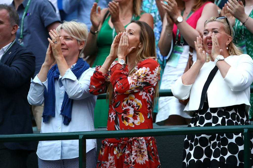 Jelena je Novakova najvatrenija navijačica