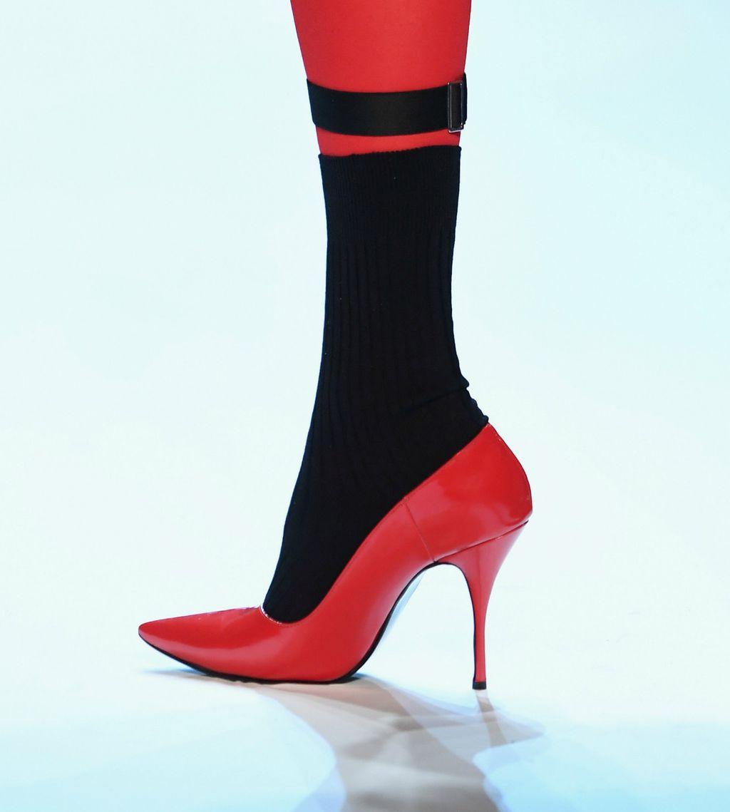 Čizme modne kuće Valentino s tankom potpeticom