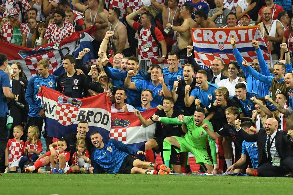 Hrvatska je u finalu Svjetskog prvenstva (Foto: AFP)