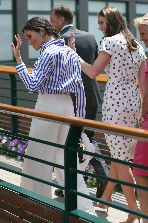 Meghan i Catherine na Wimbledonu