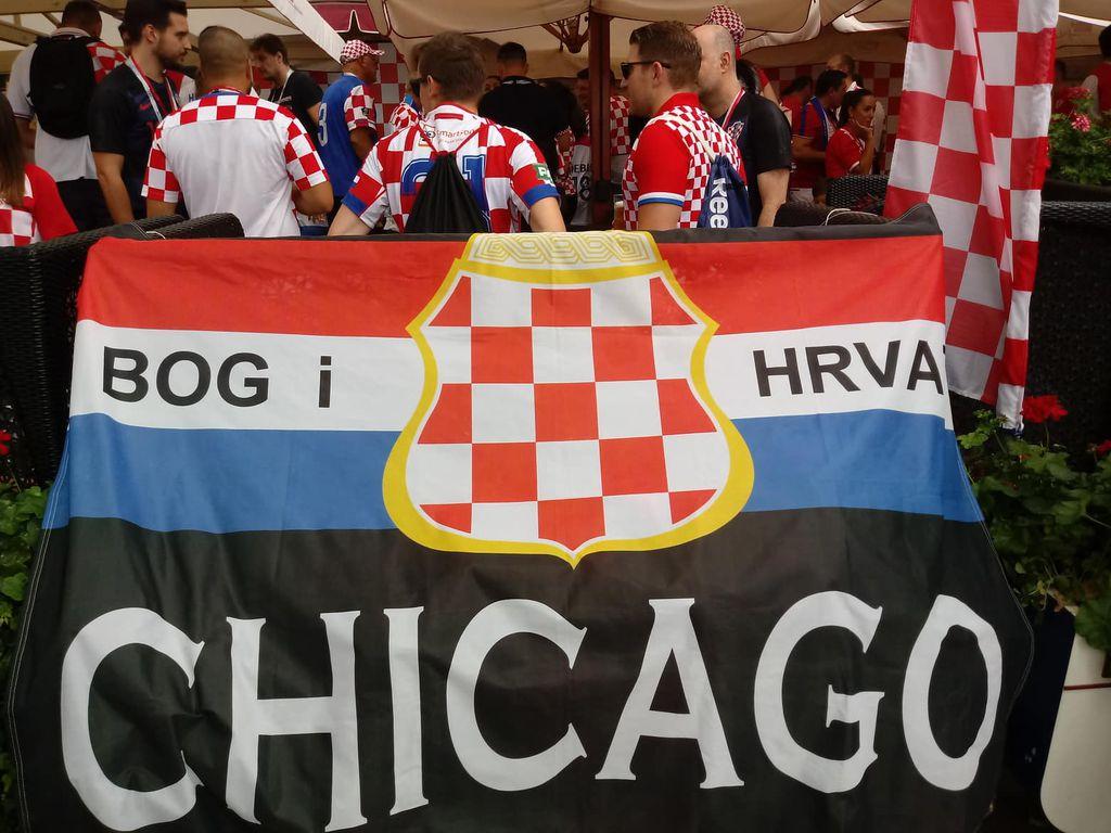 Hrvatski navijači u Moskvi (Foto: GOL.hr)