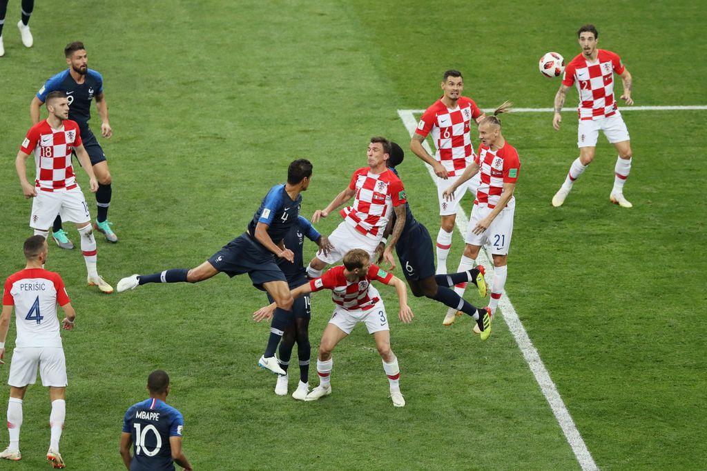 Mario Mandžukić zabio je autogol u finalnoj utakmici