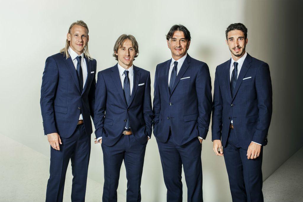 Svjetski viceprvaci u nogometu nose odijela brenda Joop - 1