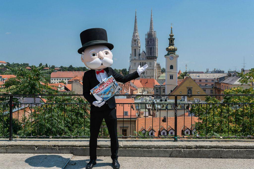 Mr. Monopoly predstavio je hrvatsku verziju najpopularnije društvene igre na svijetu