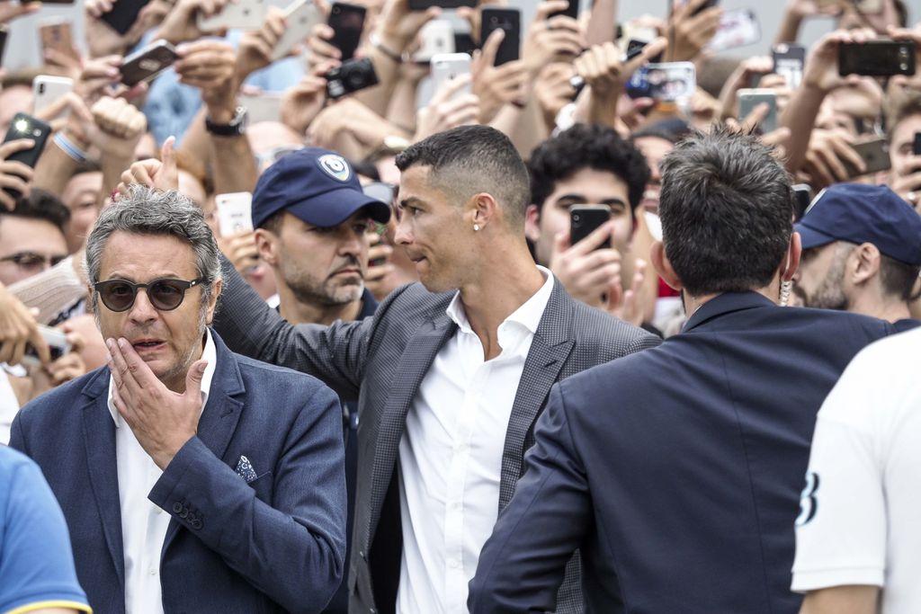 Cristiano Ronaldo (Foto: Riccardo Giordano/IPA/PIXSELL)