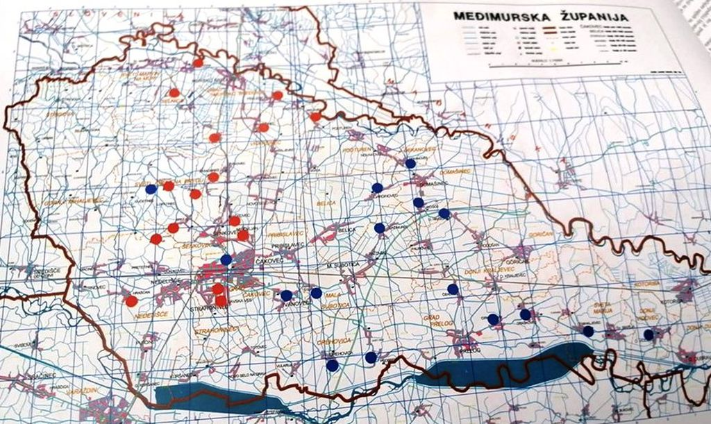 Karta 2. međimurske lige (Foto: eMedjimurje)