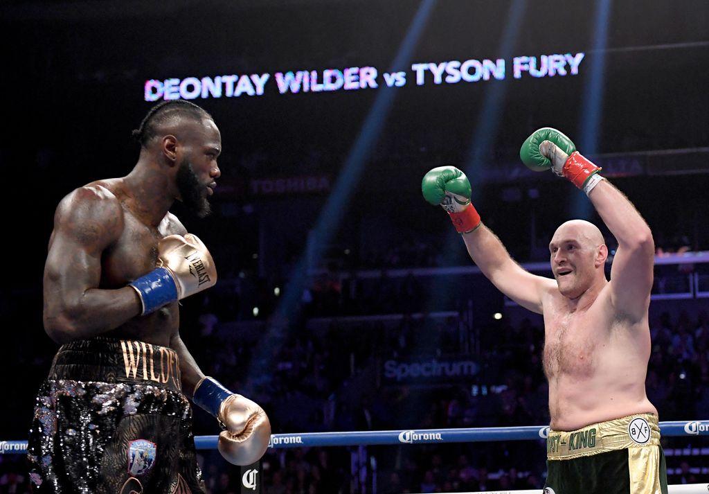 Wilder i Fury (Foto: AFP)