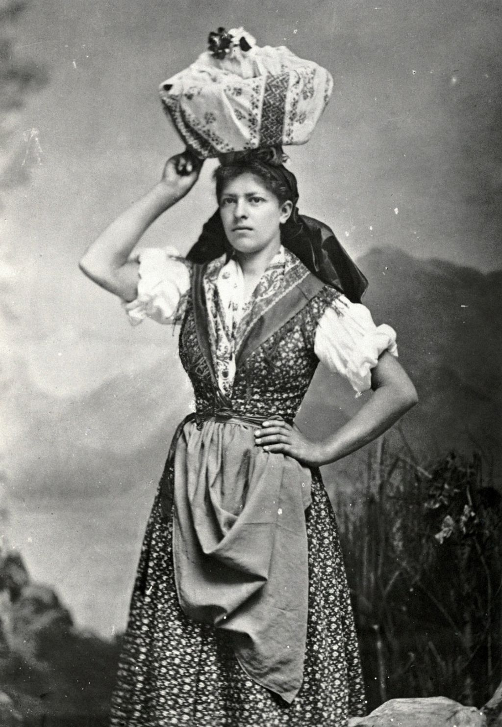 Fotografija mljekarice iz druge polovice 19. stoljeća
