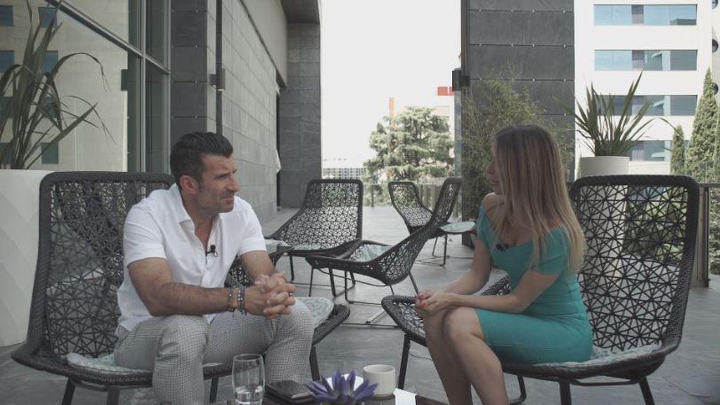 Figo i Fani Stipković (Foto: GOL.hr)