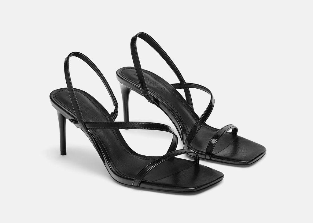 Zarine sandale četvrtastog oblika