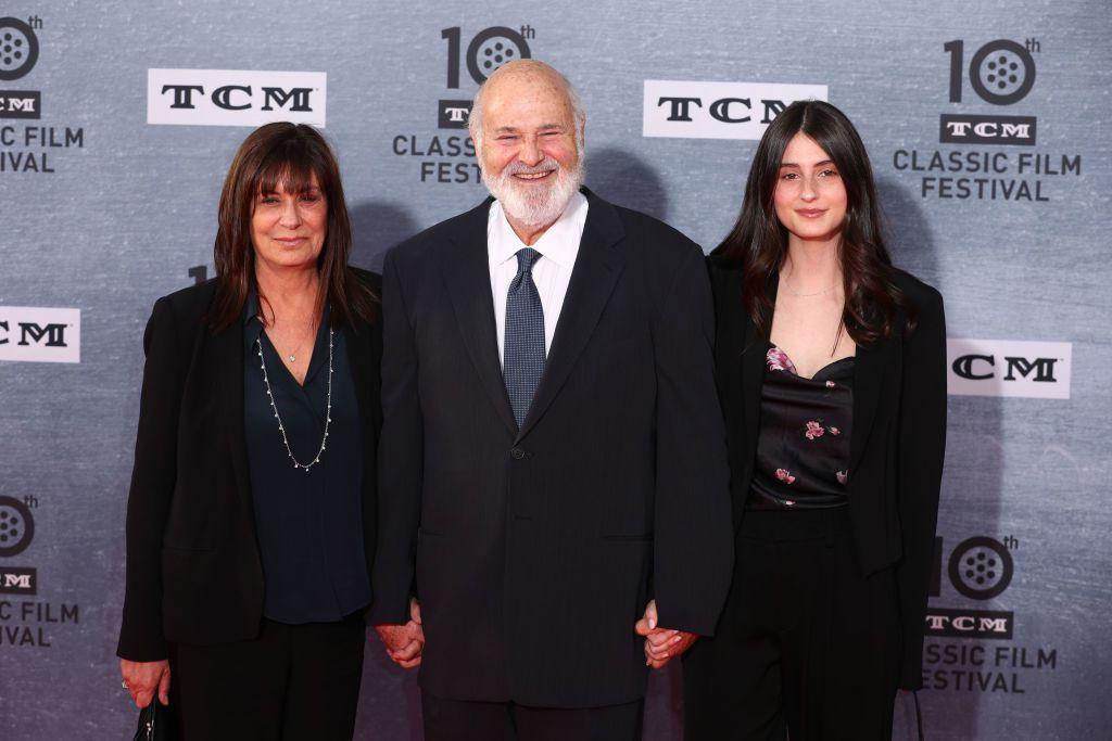 Rob Reiner u društvu supruge Michelle i kći Rony