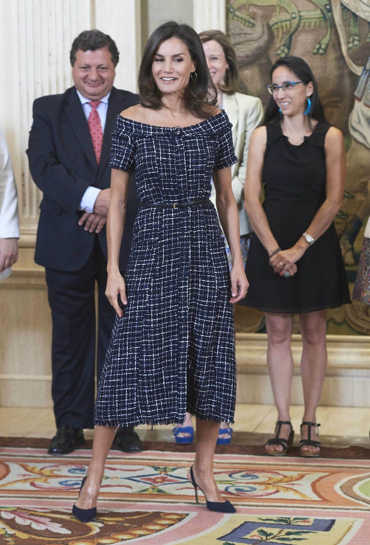 Letizia u haljini modnog brenda Zara