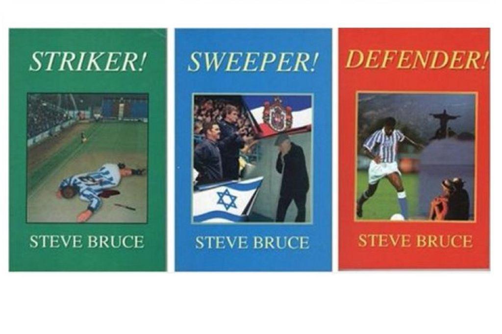 Knjige Stevea Brucea (Foto: Twitter)