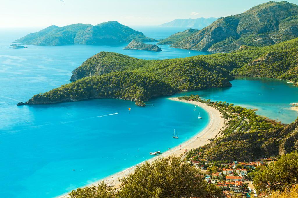 Plava laguna, Oludeniz,Turska