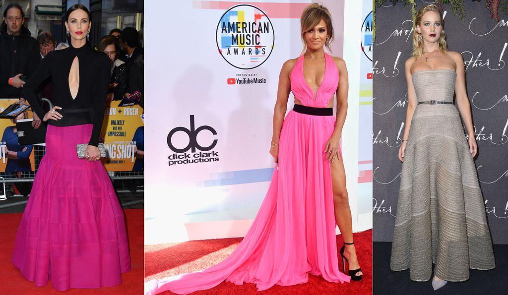 Charlize Theron, Jennifer Lopez i Jennifer Lawrence