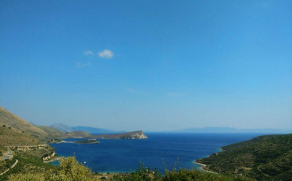 Albanija - Pogled na Jonsko more