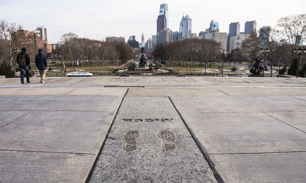 Philadelphia, Rockyjeve stepenice