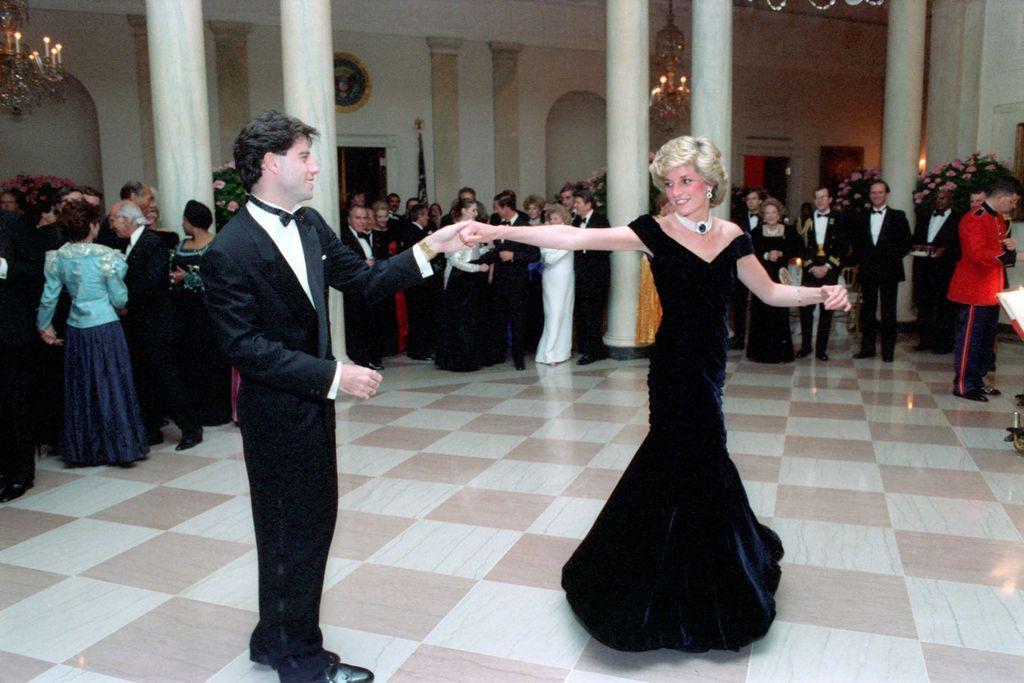 Princeza Diana zaplesala je s Johnom Travoltom u Bijeloj kući