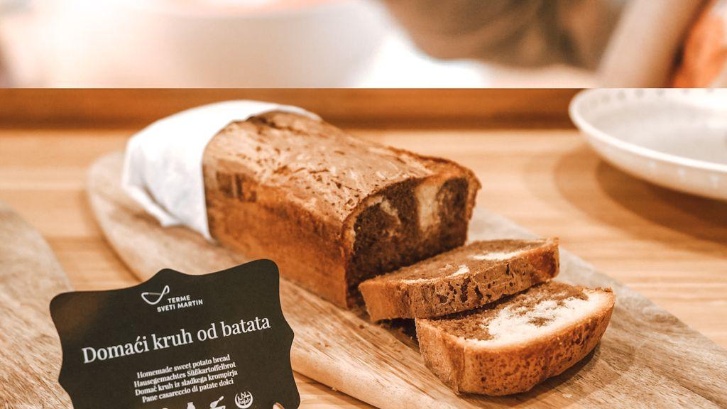 Domaći kruh od batata