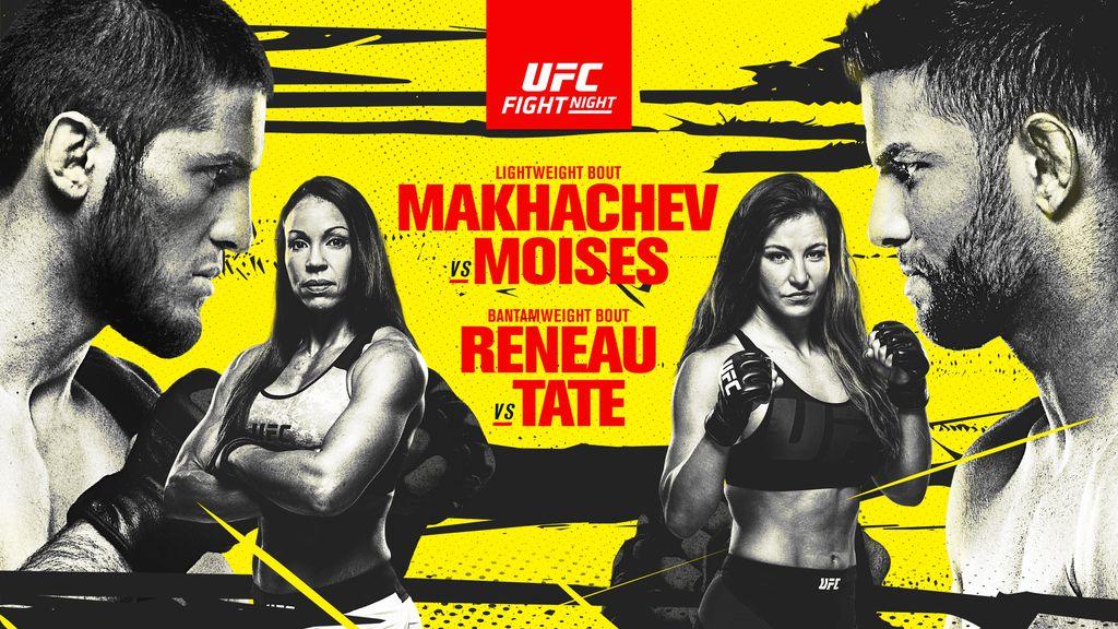 UFC Fight Night: Makhachev vs Moises