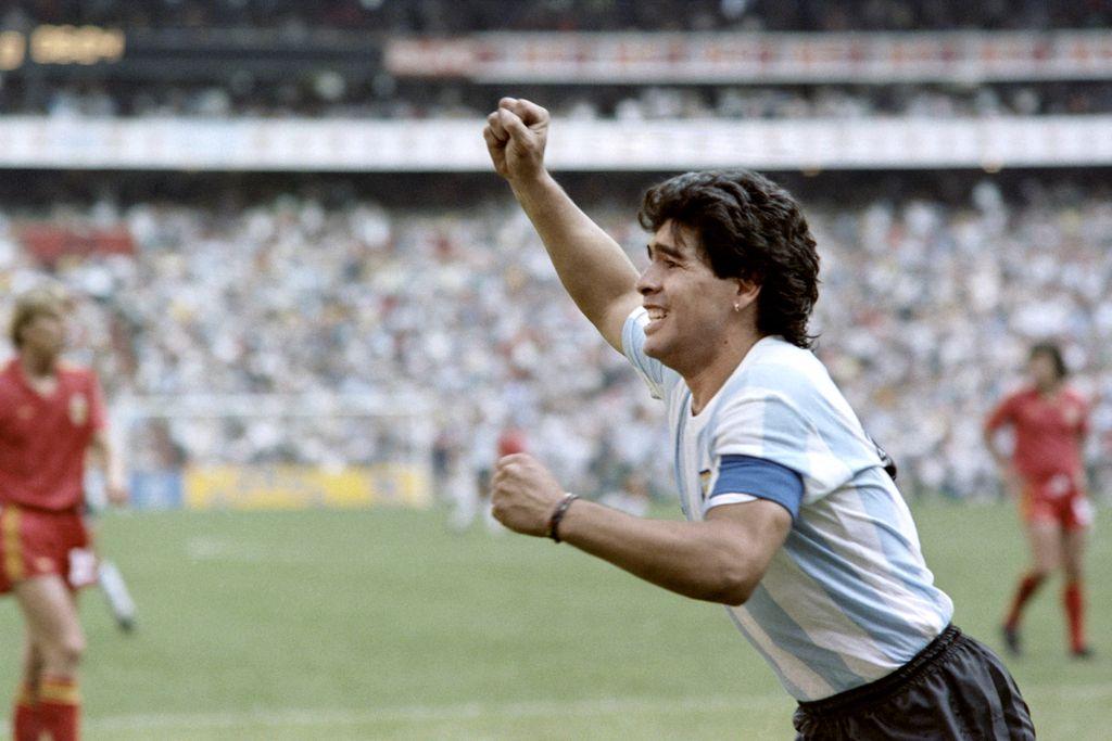 Diego Maradona 1986. godine (Foto: AFP)