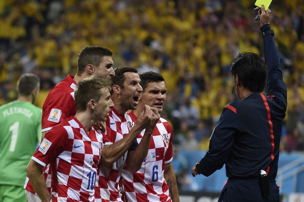 Prosvjedi hrvatskih igrača 2014. (Foto: AFP)
