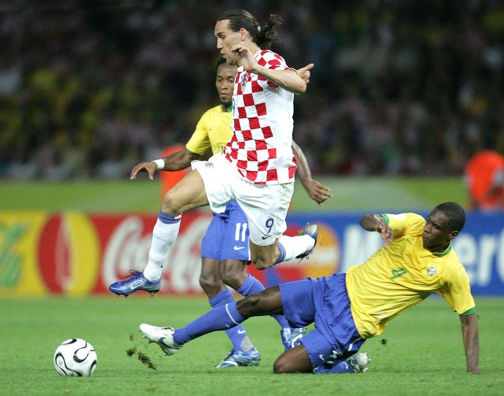 Dado Pršo protiv Brazila (Foto: Sanjin Strukic/PIXSELL)
