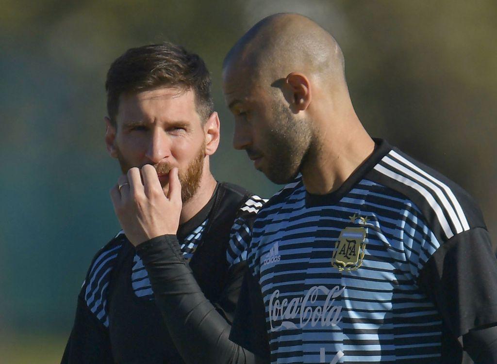 Lionel Messi i Javier Mascherano (Foto: AFP)