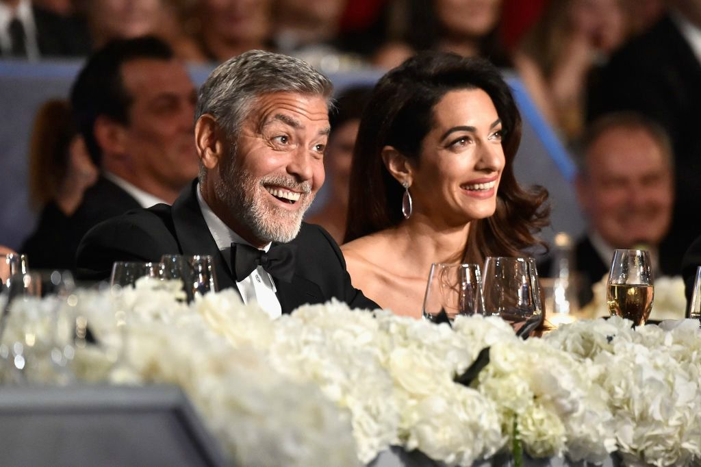 Amal i George na gala večeri Američkog filmskog instituta