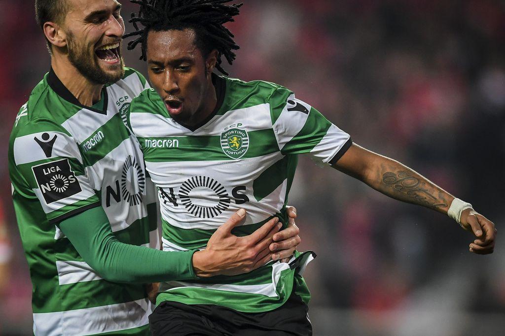 Bas Dost i Gelson Martins (Foto: AFP)