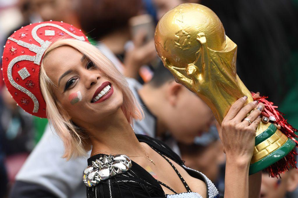 Navijačice na otvaranju Svjetskog prvenstva (Foto: AFP)