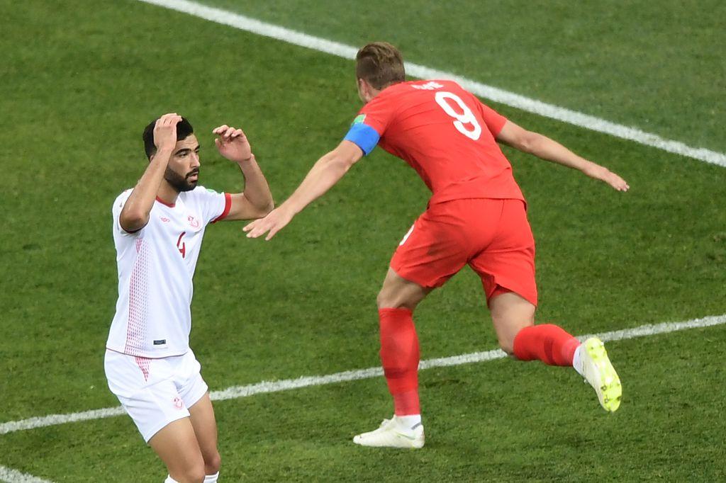 Harry Kane slavi pogodak (Foto: AFP)