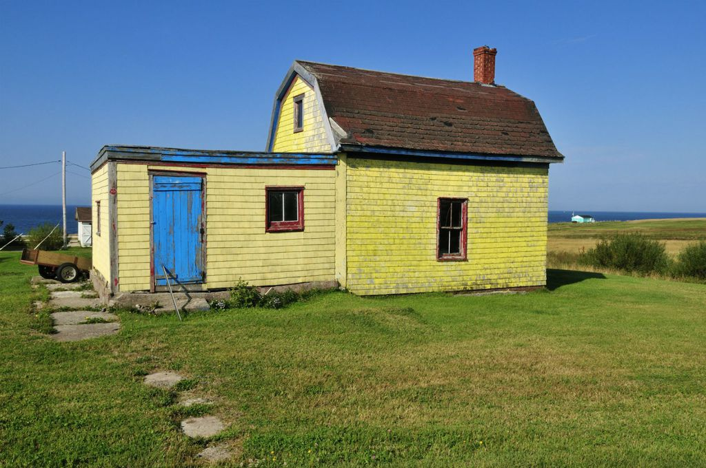 Neke kuće su napravljene od drvenih dasaka spašenih s nasukanih brodova