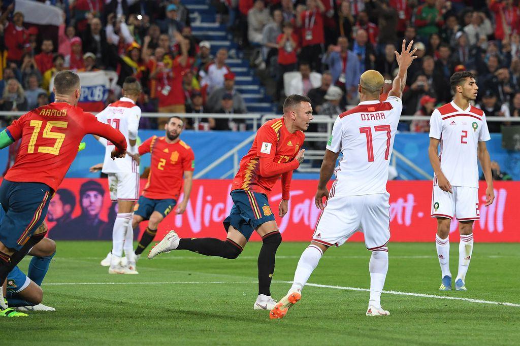 Iago Aspas slavi gol (Foto: AFP)