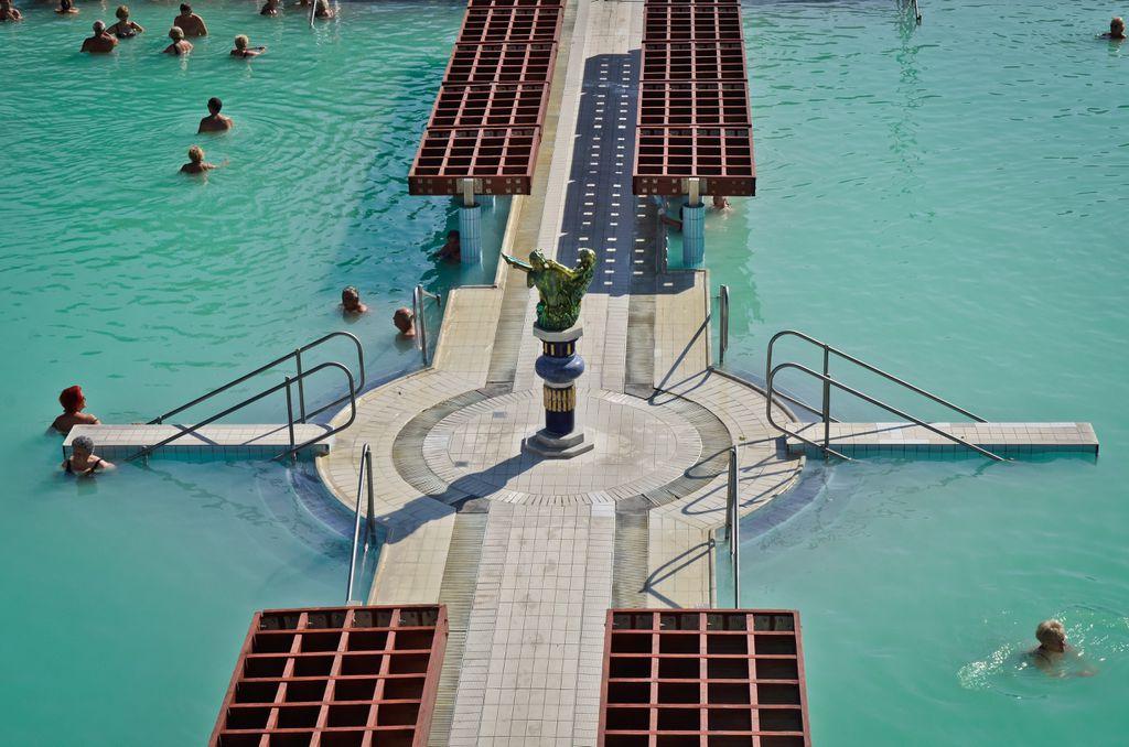Banje u Harkanyju čine čak 15 bazena.