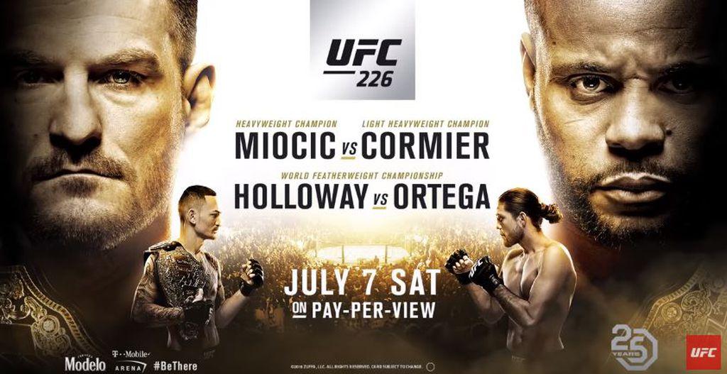 Plakat za UFC 226 (Screenshot)