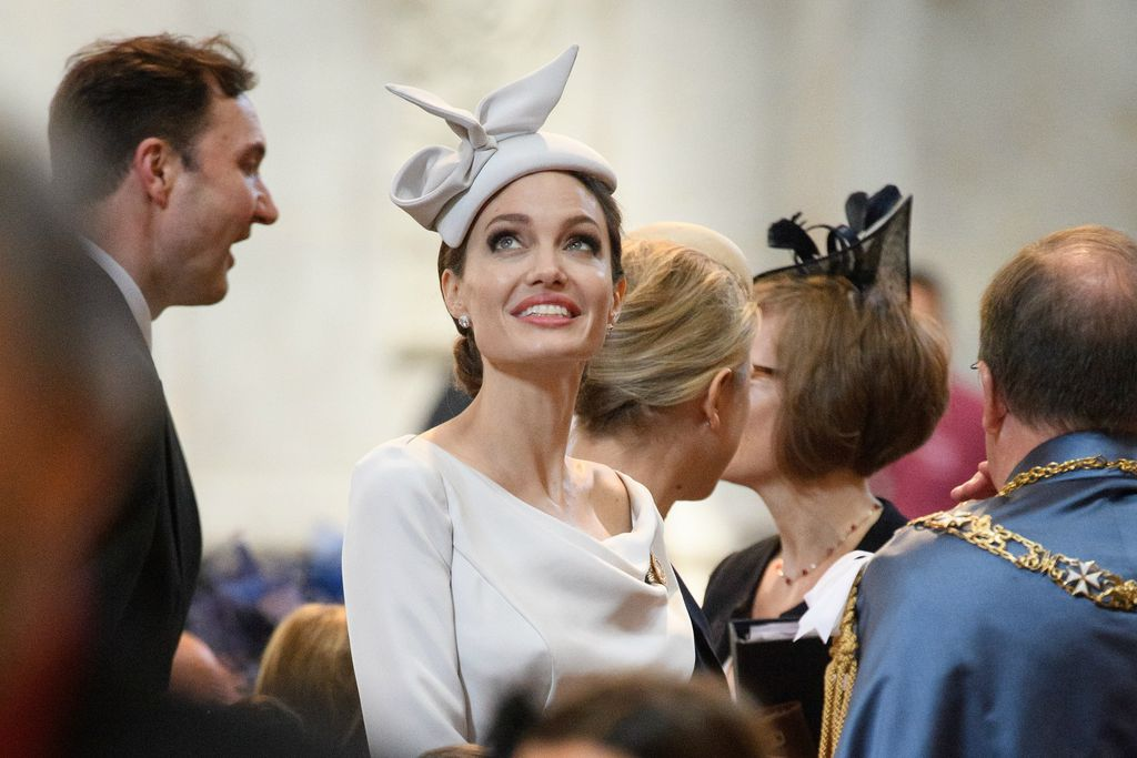 Angelina u katedrali sv. Pavla
