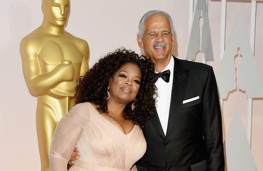 Oprah i Stedman na dodjeli Oscara