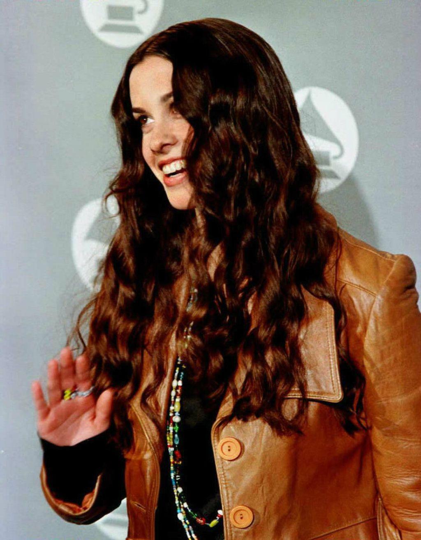 Alanis na dodjeli Grammyja 1996. godine