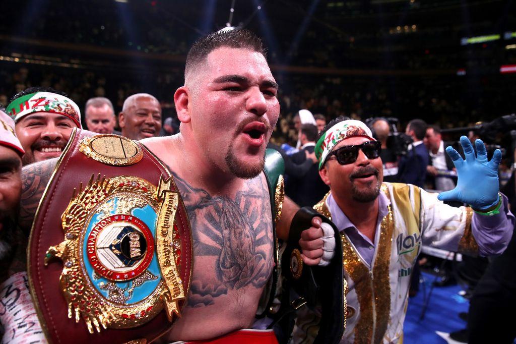 Andy Ruiz Jr. nokautirao Joshuu (Foto: Nick Potts/Press Association/PIXSELL)