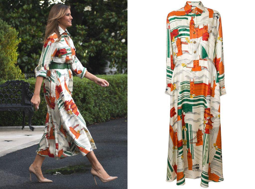 Melania u haljini modne kuće Gucci vrijednoj 2980 eura