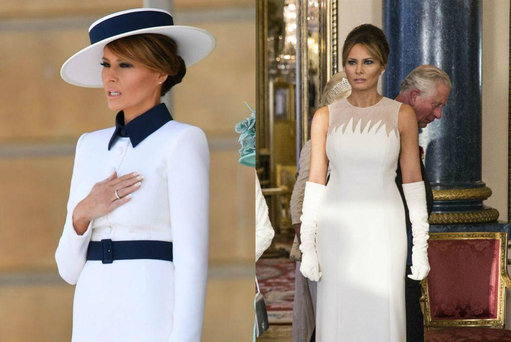 Dva izdanje Melanije Trump