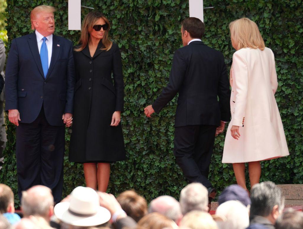 Melania Trump i Brigitte Macron na obilježavanju 75. godišnjice Dana D - 4