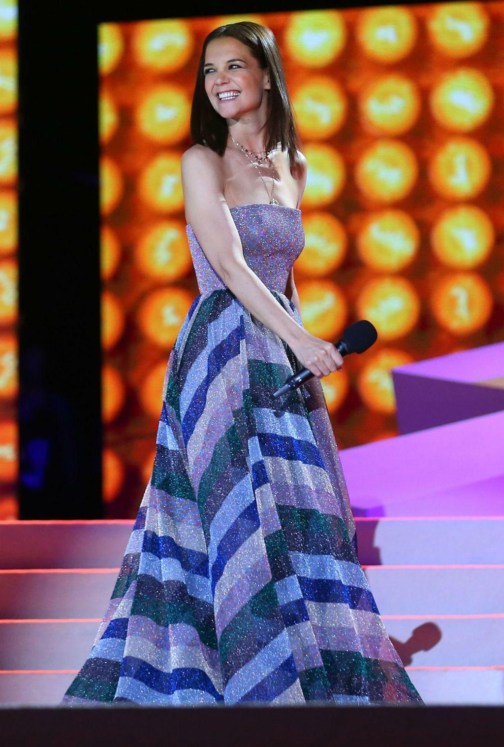 Katie Holmes u divnoj haljini talijanskog brenda Missoni - 1