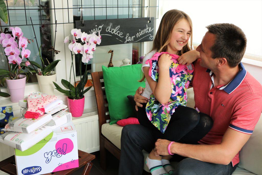 Bruno Šimleša s kćeri