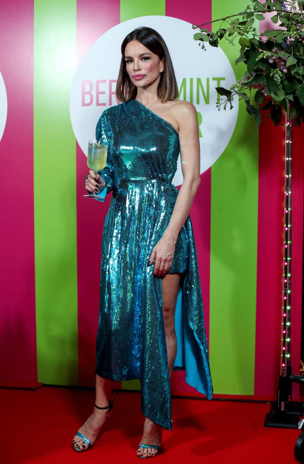 Severina u haljini brenda 16arlington i štiklama Sophije Webster