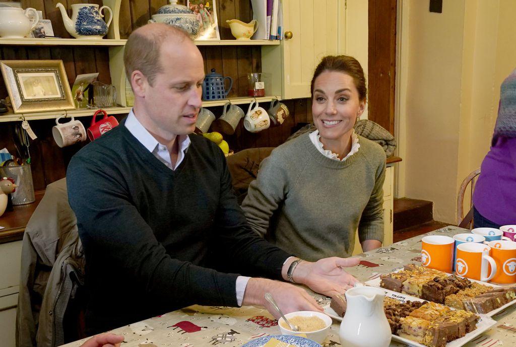 William i Catherine zasladili su se na farmi