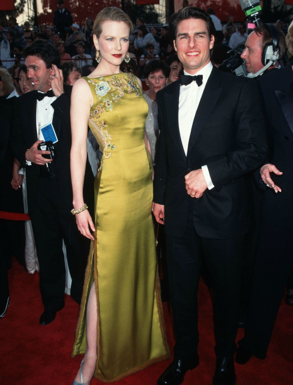 Nicole u haljini Johna Galliana